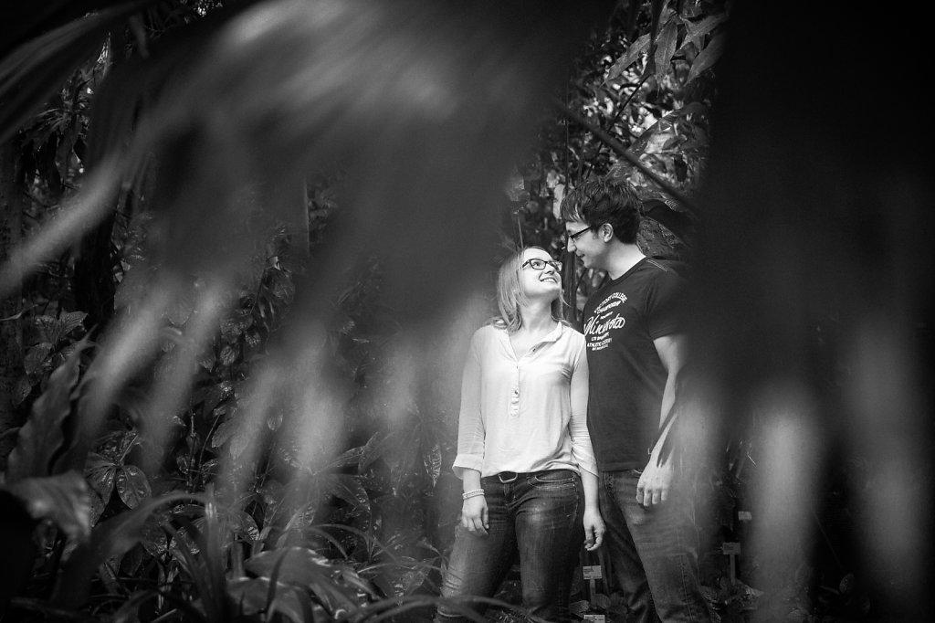 Verlobung Botanischer Garten Bochum